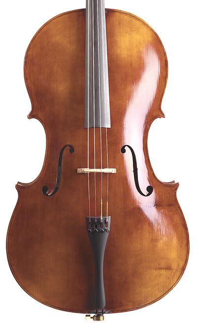 Matteo Goffriller Cello Front
